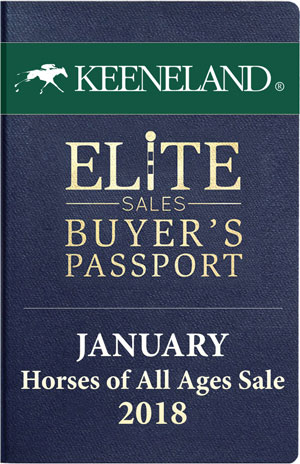 Keeneland January 2018 Sale