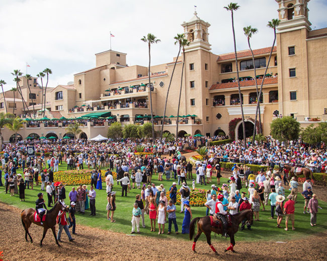 Del Mar Racetrack Paddock